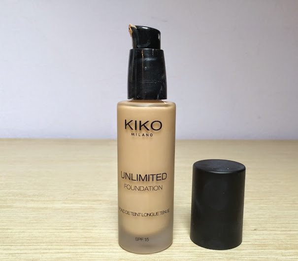 Review: Kiko Milano Unlimited Foundation