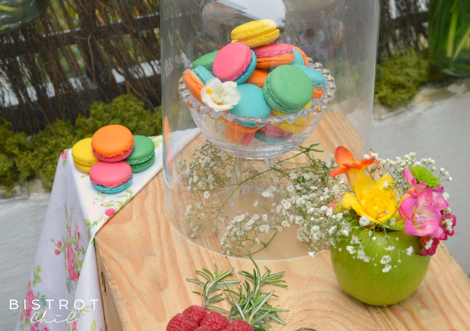 Spring Party Macarons by BistrotChic