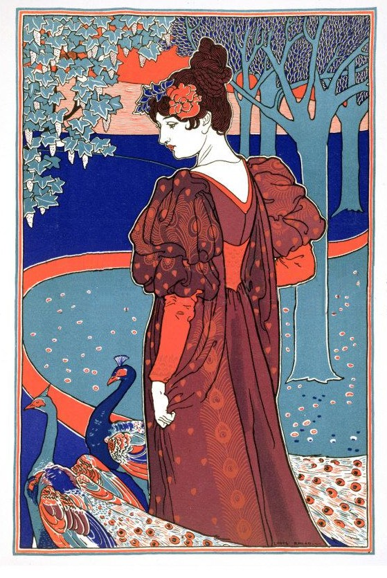 Louis Rhead peacock