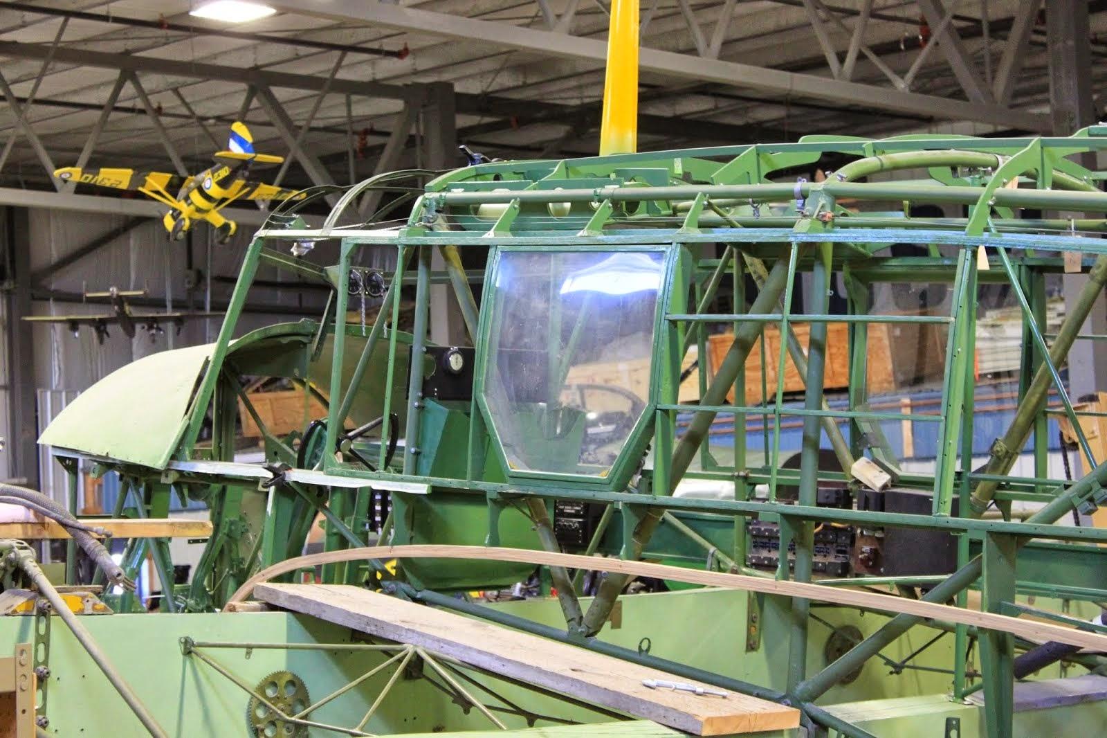 Avro Anson Mk II #7481 Restoration