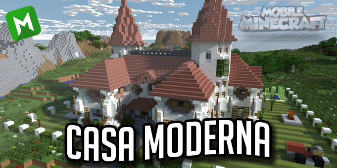 Mobile minecraft for Casa moderna minecraft 0 12 1
