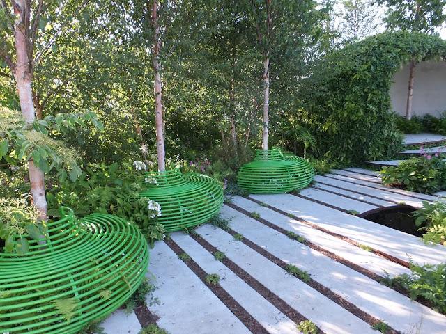 The Macmillan Legacy Garden by Ann-Marie Powell