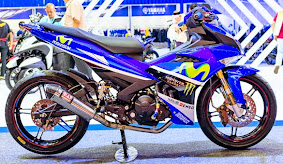 Warna MX King 150 Livery Movistar Yamaha MotoGP_2
