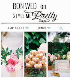 BON WED on Style Me Pretty (click on image for postings)