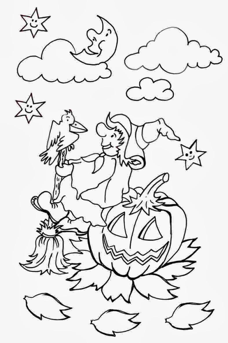 Malvorlagen Halloween - schöne Ausmalbilder für Kinder