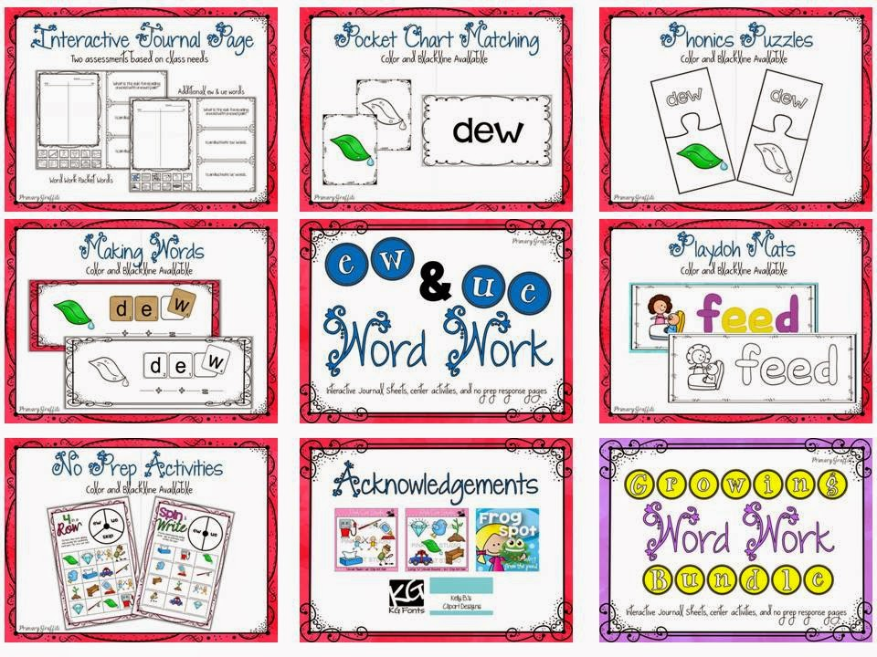 https://www.teacherspayteachers.com/Product/Phonics-Word-Work-ew-ue-1209106