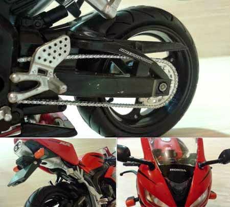 gambar miniatur Honda CBR