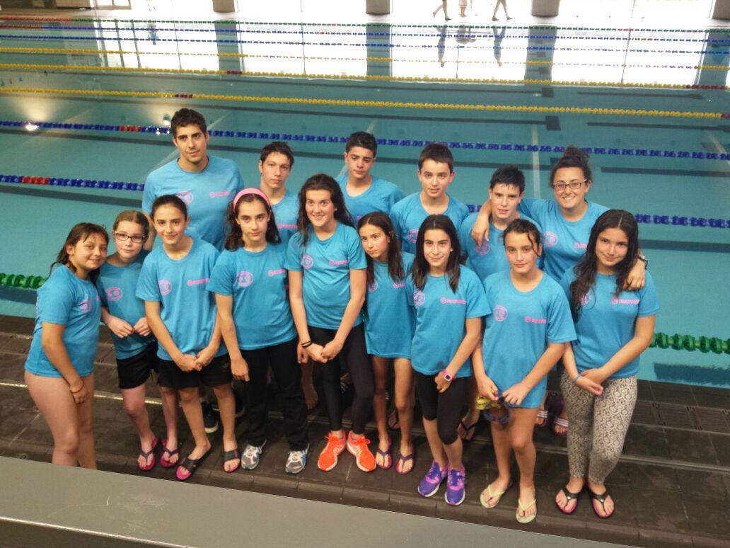 Club natacion palencia junio 2015 for Piscinas palencia