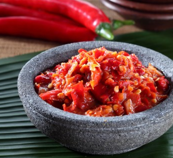 Download gambar resep sambal terasi