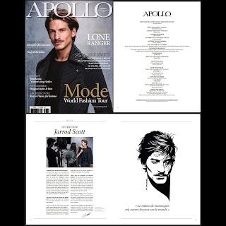 Jarrod Scott by Kai Karenin for Apollo Magazine (Paris, FR)