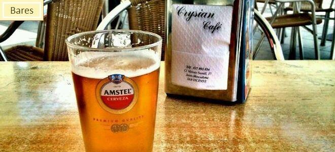 Crysian Bar - ComeyBebeenAlicante