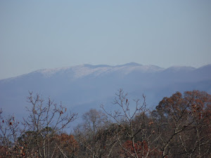 Another look at the snow on the peaks.