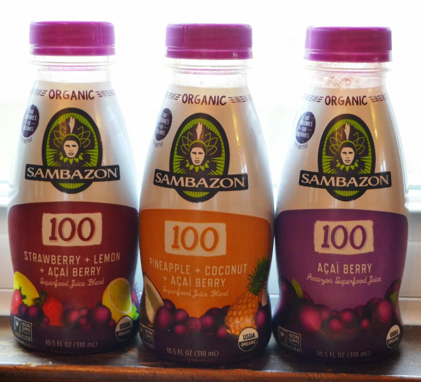 Sambazon 100 Juice