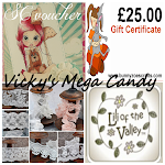 Vicky has Mega Candy to help raise money for Cancer Research