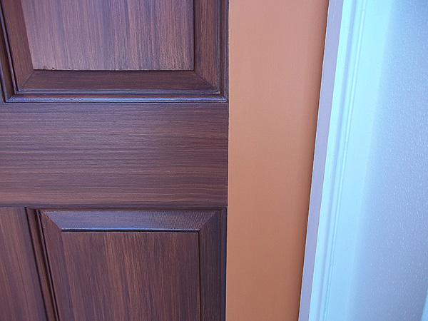 These doors are looking great everything i create for How to paint garage door to look like wood