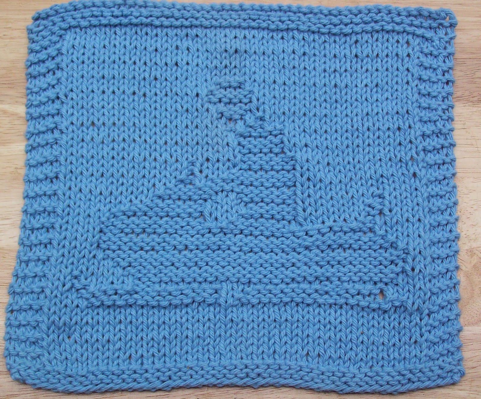 DigKnitty Designs: Snowmobile Knit Dishcloth Pattern