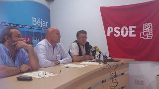 Jose L.Rodriguez Celador, Javier Garido y Cipriano González