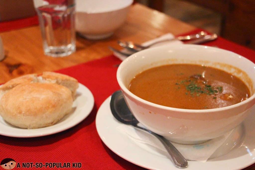 Balkan's Goulash in Makati