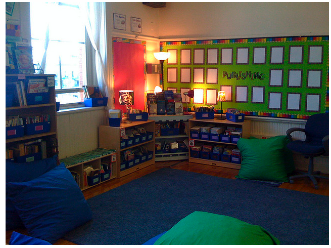 Classroom Setup Ideas : Classroom libraries setting up the series