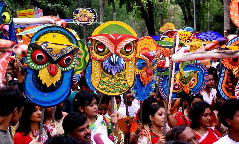 pohela boishakh festival essay In south asia, the new year, harvest, spring and monsoon festivals were  considered seasonal events without any religious affiliation [1]  however, as the .