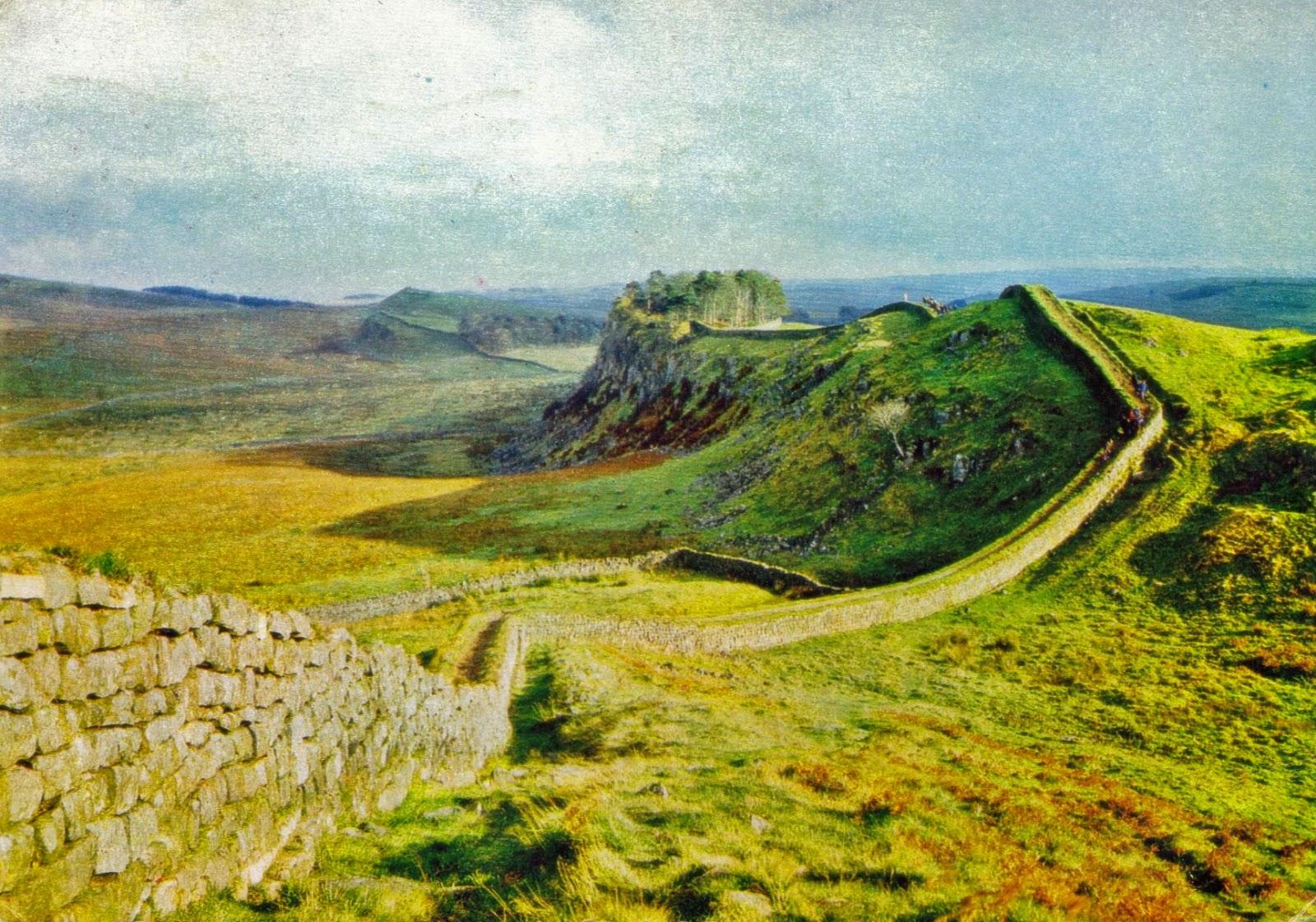 The Roman Wall or Hardrian's Wall