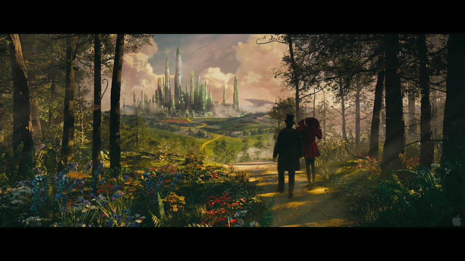 Oz The Great and Powerful 3D Movie Free Wallpapers
