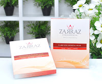 zarraz paramedical, clarifying renewal mask, anti aging mask, anti wrinkles mask, renewal mask, masquerade masks, facial mask