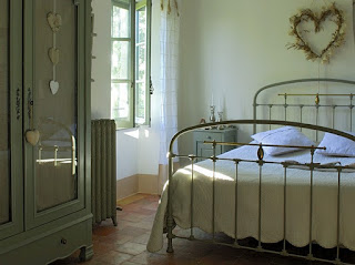 dormitorio casa provenza
