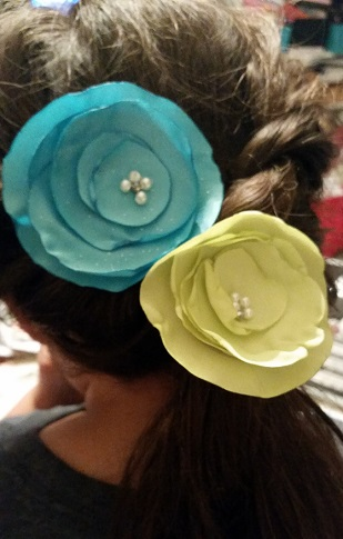 pop on posy interchangeable double headband