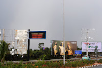 BIA_Squall_Damaged_Billboards_Airport_Exit