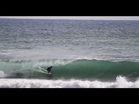 Surfer bails bodysurfs then IS THIS FAKE