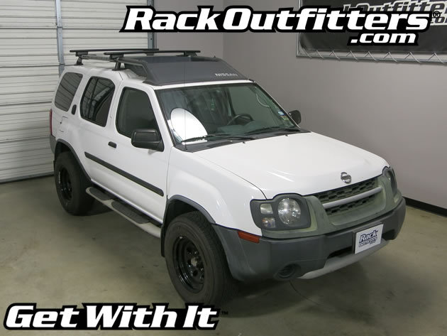This Complete Multi Purpose Base Roof Rack Is The Perfect Fit For The 2000,  2001, 2002, 2003, And 2004 Nissan Xterrra With Raised Rails That Run Front  To ...