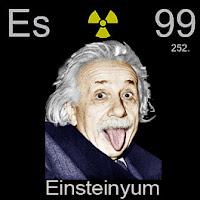 Einsteinyum Elementi Simgesi Es