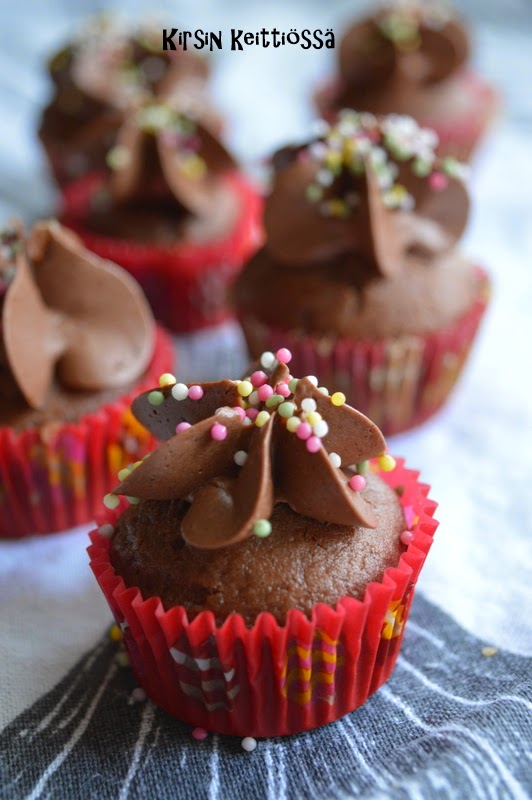 Mokkapala-muffinssit (gluteeniton ja maidoton)