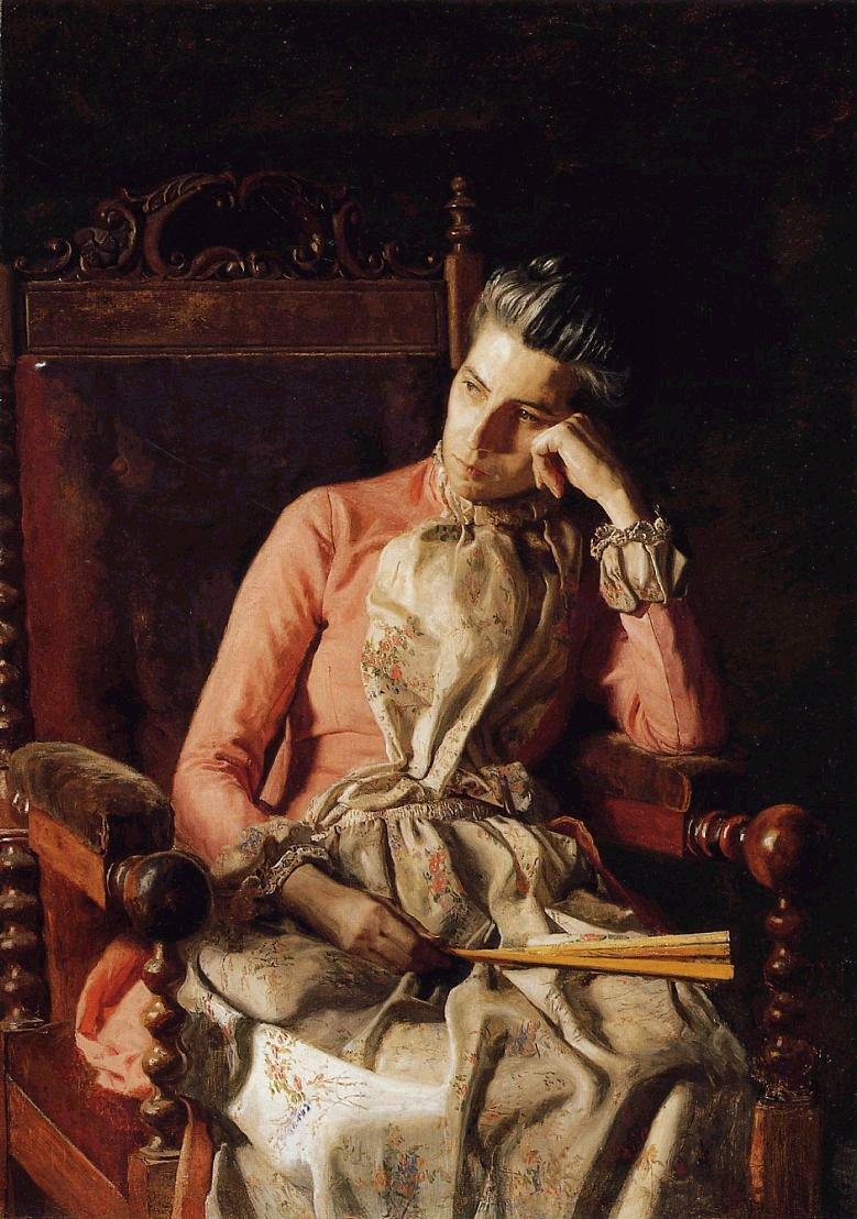 Portrait of Amelia C. Van Buren