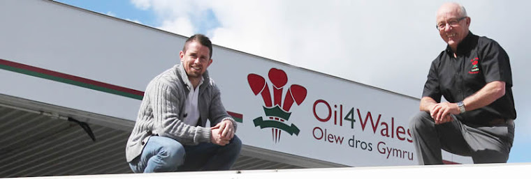 Shane Williams, Oil 4 Wales' brand ambassador