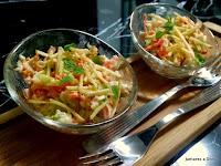 Salada de Abobrinha e Cenoura