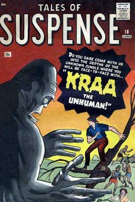 Tales of Suspense #18, Kraa the unhuman