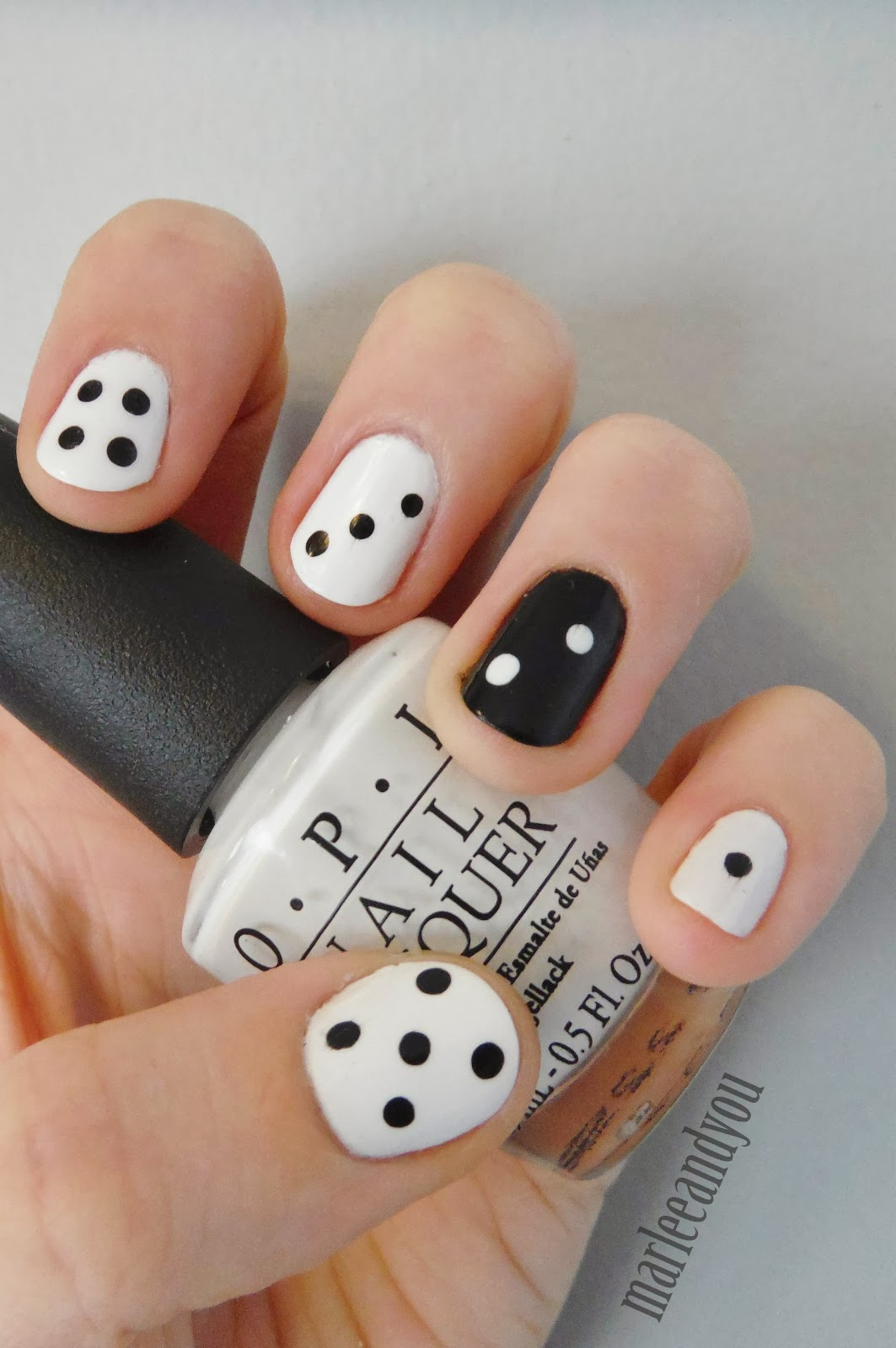Board games inspired nail art if youre wanting to show your gaming cred because we all know that goes for board games too try out some dice to get the prinsesfo Gallery