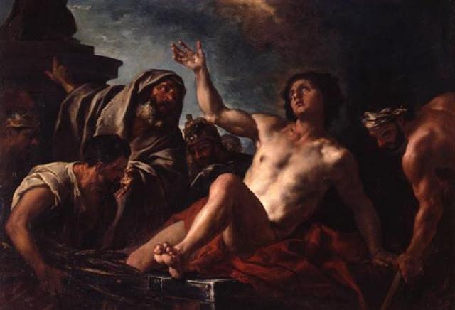 10 août Saint Laurent de Rome  Martyre-de-saint-Laurent_reference