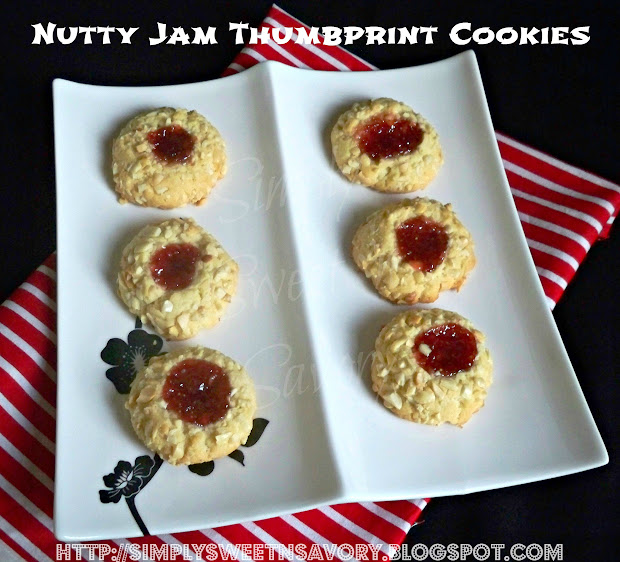 ... way with these delicious nutty cookies these thumbprint cookies