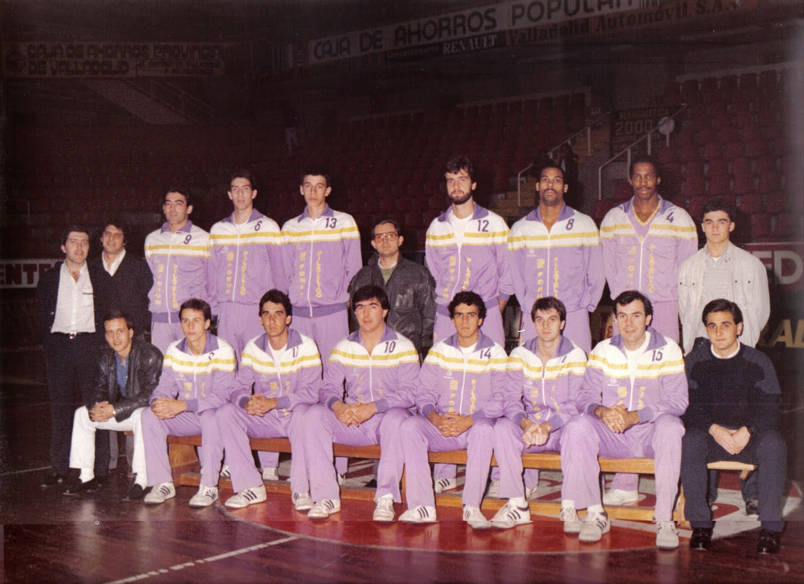FORUM VALLADOLID 1985-1986. Liga ACB