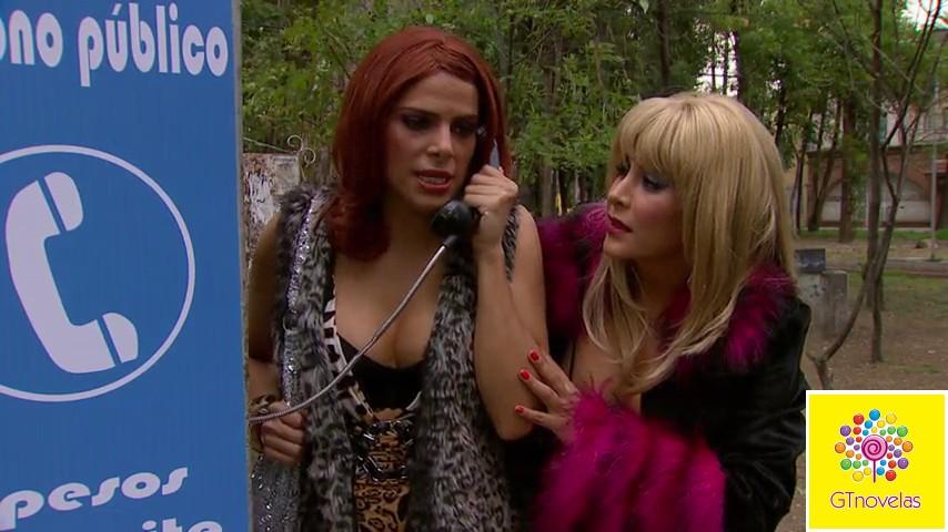 Esthercita (Laura Carmine) seduce a Damián (William Levy) para que se ...