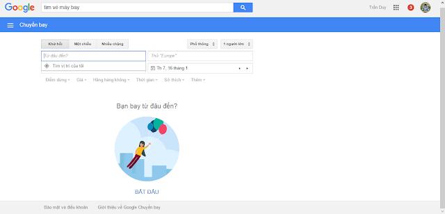 Google chuyến bay là gì?