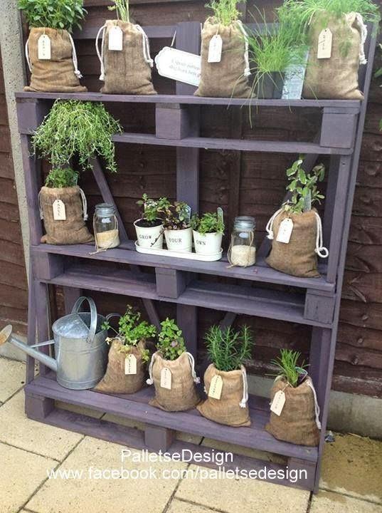 ... Un Giardino Moderno, Recinzione Pallet e Progetti Da Giardino Pallet