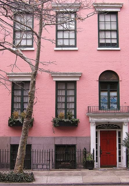 NYC pink building
