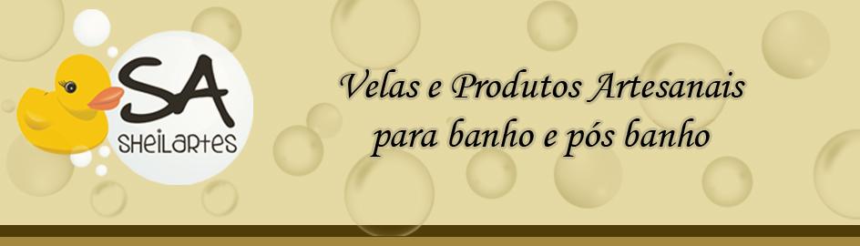 .:: Sheilartes - Velas e Sabonetes Artesanais ::.