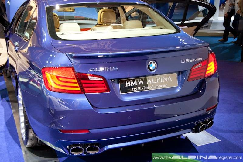 BMW Alpina D5 2014