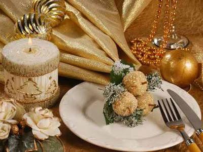 Incanti wedding and event creations le magie del natale christmas party - Decorazioni tavola capodanno fai da te ...