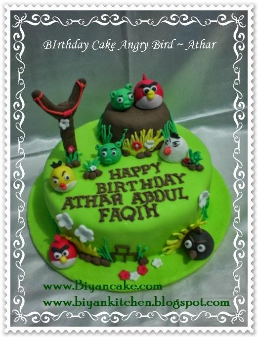 Pesan Kue Tart Kartun Bekasi Angry Bird Athar